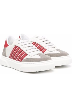Dsquared2 Boys Sneakers - Striped low-top sneaekrs