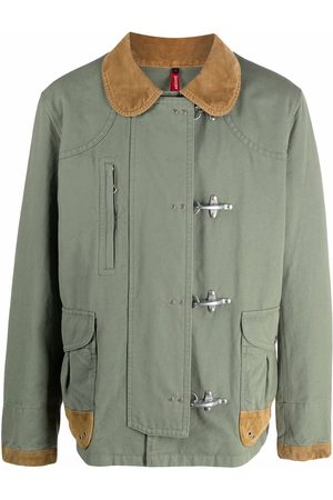 Fay Men Jackets - Fitted shirt jacket