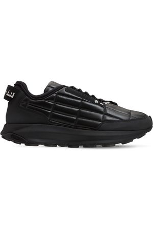 Dunhill Aerial Gt Runner Leather Sneakers