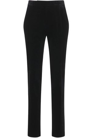 Tom Ford Compact Cotton Velvet Day Pants