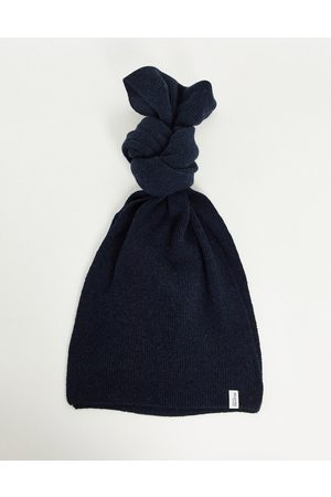 SELECTED Knitted wool mix scarf in