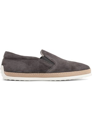 Tod's Suede slip-on loafers