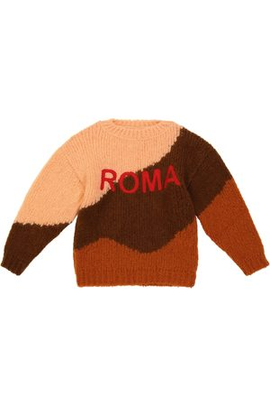 The Animals Observatory Exclusive to Mytheresa – Roma City Bull wool-blend sweater