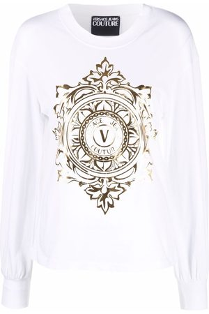 Versace Jeans Couture Logo-print long-sleeve T-shirt