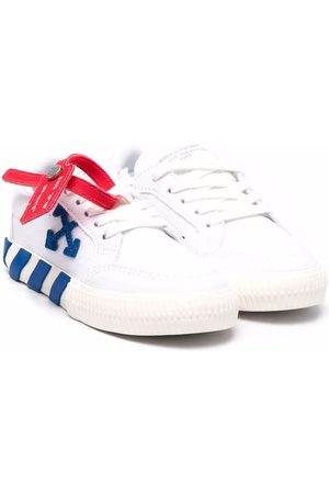 OFF-WHITE LOW VULCANIZED CANVAS BLUE