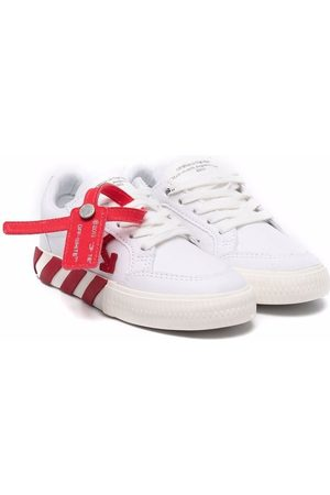 OFF-WHITE LOW VULCANIZED CANVAS RED