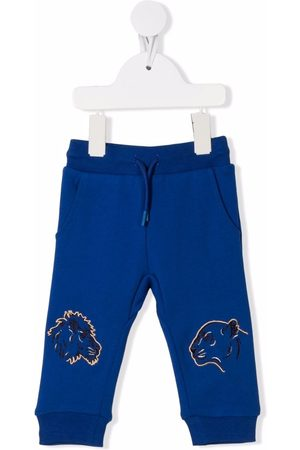 Kenzo Big cat-embroidered track pants