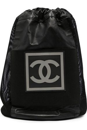Chanel Pre-Owned 2004 Sports CC patch drawstring backpack