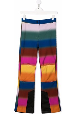 Molo Kids TEEN striped flared trouseres