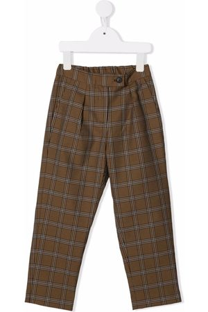 Bonpoint Check tailored trousers