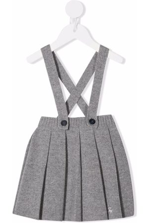 Fay Kids Knitted pleated skirt