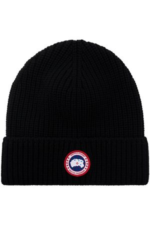 Canada Goose Arctic Disc ribbed-knit beanie