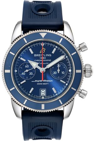 Breitling Superocean Heritage 44 Blue Dial Mens Watch A23370 Box Papers