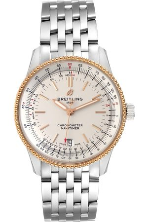 Breitling Men Watches - Navitimer 1 41Mm Steel Rose Gold Mens Watch U17325 Box Papers