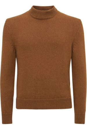 TOM FORD Brushed Cashmere & Wool Knit Sweater