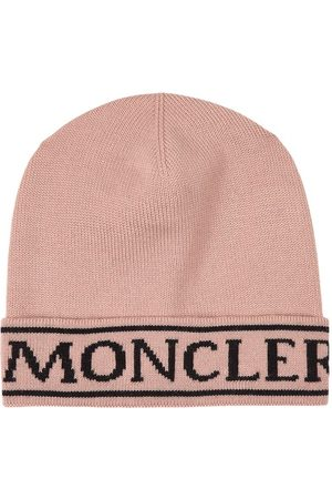 Moncler Dusty Rose Berretto Beanie