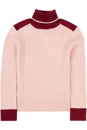 Moncler Dusty Rose Lupetto Turtleneck Sweater