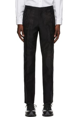 Burberry Silk Jacquard Tailored Classic Fit Trousers