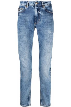Versace Jeans Couture Mid-rise slim-fit jeans
