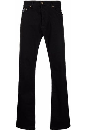 Versace Jeans Couture Mid-rise straight-leg jeans