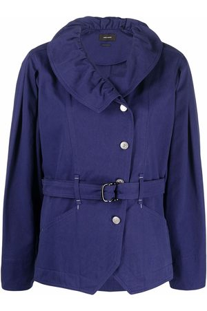 Isabel Marant Dipazo belted button-up coat