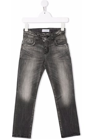 Paolo Pecora Boys Jeans - Distressed-effect jeans
