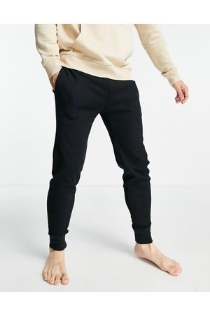 Polo Ralph Lauren Waffle jogger with gold pony logo in