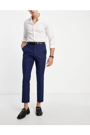 French Connection Linen slim fit suit trousers