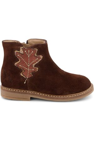 Pom d'Api Ankle Boots - Copper Retro Tree Boots