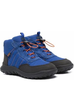 Camper Kids Boys Ankle Boots - Waterproof lace-up ankle boots