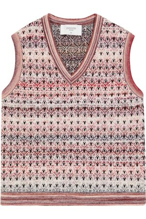 PAADE Girls Vests & Camis - Wool-blend sweater vest