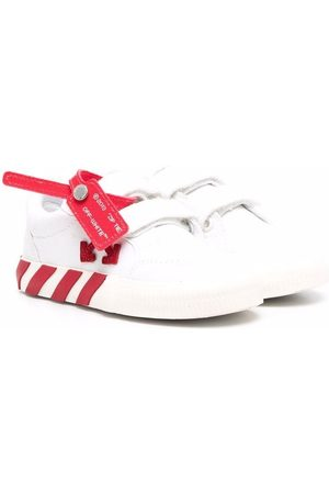 Off-White Kids LOW STRAP VULCANIZED CANVAS RED