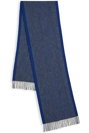 Saks Fifth Avenue COLLECTION Multiweave Donegal Wool-Cashmere Scarf