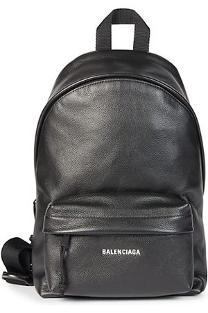 Balenciaga Grained Leather Sling Backpack