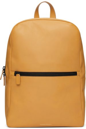 COMMON PROJECTS Men Suitcases & Luggage - Tan Leather Simple Backpack