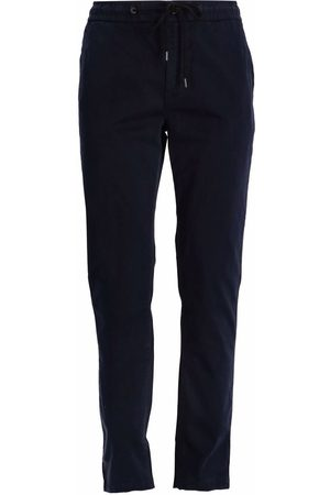 BOSS Tapered-fit stretch-cotton trousers