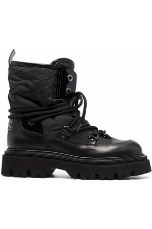 Casadei Lace-up chunky boots