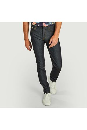Naked And Famous Jean Super Guy Morty Smith Morty Smith Aww Geez Selvedge