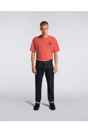 Edwin ED-55 Regular Tapered Red Listed Selvage Denim, 14 oz, Rinsed Jeans