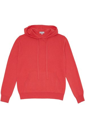 Somerville Cashmere Hoodie - Coral