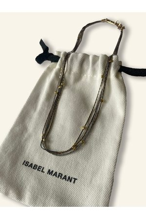 Isabel Marant Rope Necklace with Detail
