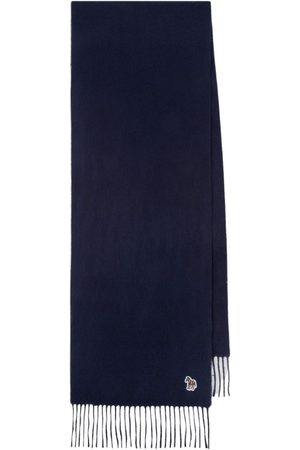 PS by Paul Smith PS Paul Smith Embroidered Lambswool Scarf