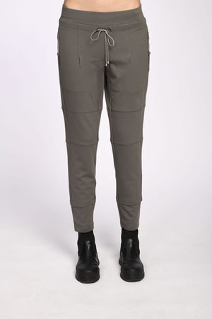 Simclan TROUSERS WITH ZIPPER 2 COLOURS
