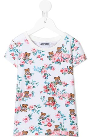 Moschino All-over Toy-bear print T-shirt