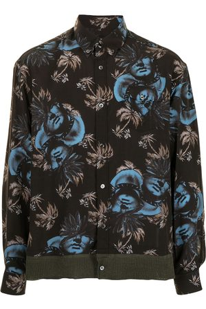 UNDERCOVER Printed long-sleeve shirt