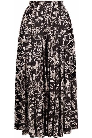 Isabel Marant Floral-print pleated culottes