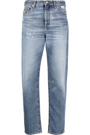 Jacob Cohen Women Tapered - Tapered stonewash jeans
