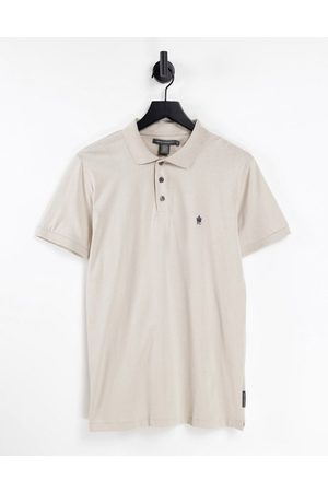 French Connection Polo in stone