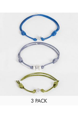 Icon Brand Adjustable 3 pack cord bracelets in