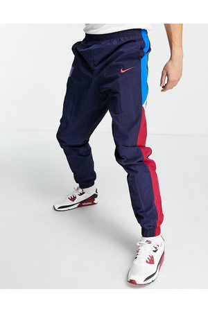 Nike FC Barcelona panelled joggers in